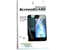 5x Profesional Transparente Lcd Film Protector De Pantalla Para Iphone 5 + Pantalla Gratis Paño