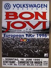 BON JOVI - European Tour 1996 - Stuttgart Cannstatter Wase - 16.6.1996