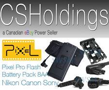 Nikon Speedlight External Flash Battery Power Pack SD-9A SD-8 SB910 SB-910 900