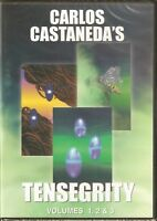 NEW Tensegrity Series 1, 2, & 3 (DVD) Carlos Castaneda **DISCONTINUED**NOW RARE