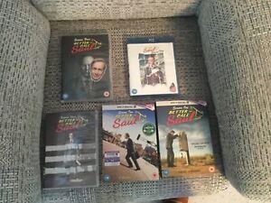 Better Call Saul Seasons 1,2,3,4,5 Collection DVD Set