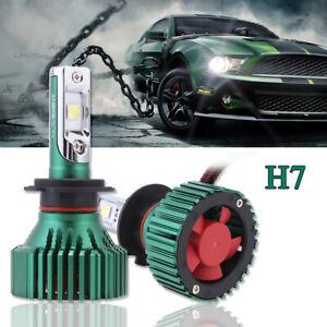 NOVSIGHT 60W 16000LM H7 Car LED Headlight Bulbs Kit Xenon 6500K Cool White Lamps