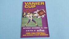 1995 Canadian University CIAU/CIS/Usports Football Pocket Schedule