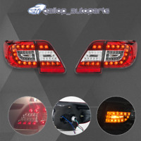Red Clear LED Tail Lights Rear Lamps Fit Toyota Corolla ZRE152 Sedan 2011-2013