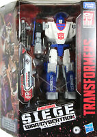 Transformers ~ MIRAGE ACTION FIGURE ~ Deluxe Class ~ Siege: War For Cybertron
