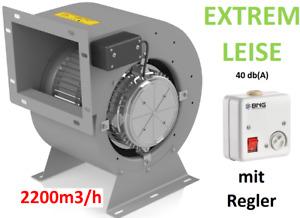 2200m³/h Lüfter Motor Airbox Dunstabzugshaube Abluftgebläse Abluftbox Radial