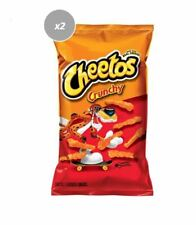 911257 2 x 240g PACKETS CHEETOS CRUNCHY CHEESE FLAVORED SNACKS CHIPS