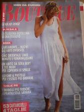 La Mia Boutique n°7 2002 - con cartamodelli   [M7]