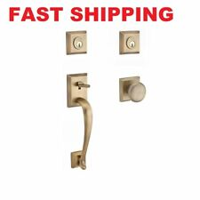 Baldwin NAPxROU-TSR Napa Sectional Handleset with Round Knob FAST SHIPPING