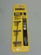 "DEWALT DW5221 1/8"" 3,1mm HAMMER DRILL BIT ROCK CARBIDE"