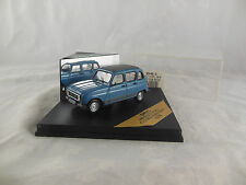 Vitesse 045C 1978 Renault R4 GTL in Blue with Closed Sunroof Scale 1:43