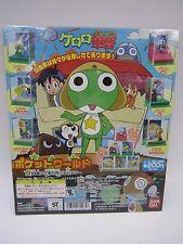 Keroro Gunso Sergeant Frog Pocket World Figure Gashapon Toy Machine Paper Card