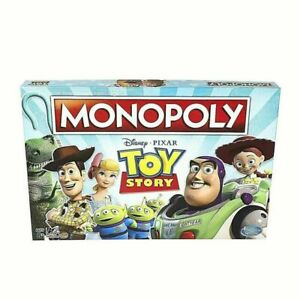 Sealed Hasbro Monopoly Disney Pixar Toy Story Board Game Family and Kids Ages 8+