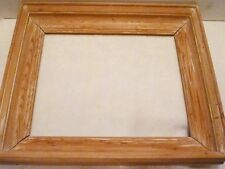 """15"""" X 12"""" Carved Wood WHITE WASH Wall PICTURE FRAME 11-1/2"""" X 9-1/4"""" Rabbet"""