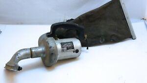 Vintage Eureka Junior Model H hand held vacuum cleaner. 1920s - 1930s.