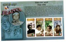 Grenada - 2003 - Tour De France 1940-50 - Sheet Of 4 - MNH