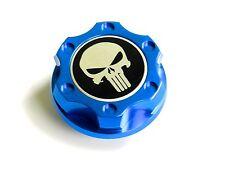 FORD MUSTANG PUNISHER BILLET BLUE ENGINE OIL CAP