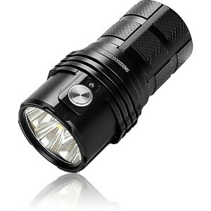 IMALENT Rechargeable LED Flashlight 25000 Lumens, with 3 x 21700 Batteries