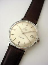 Ex Vintage 1960's OMEGA Seamaster Steel Automatic 14770  Cal 562 Quad Signed
