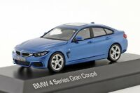 BMW 4 Series Gran Coupe Blue, official dealer model scale 1:43, new car gift