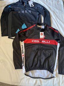 NWT Pearl Izumi / Castelli Men's XL Cycling Long Sleeve Jersey Full Zip Jacket