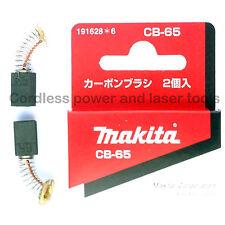 Makita JS1600 JS1660 Shears CB65 Carbon Brushes Original Part 191628-6