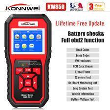 KONNWEI KW850 Car OBD2 Diagnostic Scanner Code Reader Check Engine+ Battery Test