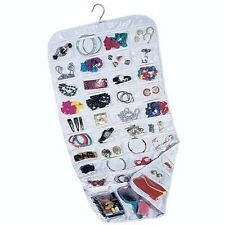 NEW Closet Complete CANVAS Ultra 80 Pocket Hanging Jewelry Holders Organizers