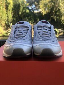 Nike Air Max 97 Nike Grey Size 10.5 Yeezy Jordan Retro 1 2 3 4 5 6 7 8 9