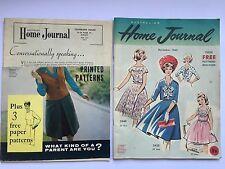 2 1960s Vintage AHJ Australian Home Journal Magazine nov 1962 may 1964 patterns
