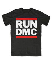 Run DMC t-shirt, hip-hop rap Old School retro culto EE. UU. banda Music