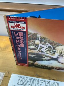 LED ZEPPELIN Houses Of The Holy JAPAN P-6520A LP