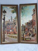 George Drummond Williamsburg, VA ART x2