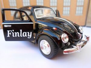 VW BEETLE PERSONALISED ANY NAME Toy Car MODEL boy dad BIRTHDAY GIFT