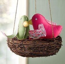 Pottery Barn Kids Bird Nest Penelope Brooke Hanging Nursery Bedroom Decor RARE