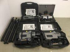 Job Lot of 3x Panasonic VHS Cameras, 2x JVC Digital Camcorders, 3x Tripod stands
