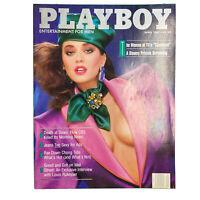 PLAYBOY Magazine Vintage Centerfold April 1987 Jean Dreams Pictorial