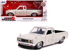 DATSUN PICKUP TRUCK BEIGE 1/24 DIECAST MODEL CAR BY JADA 30444