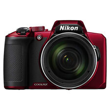 Nikon Coolpix B600 16MP Digital Camera 60x Optical Zoom Red Full-HD