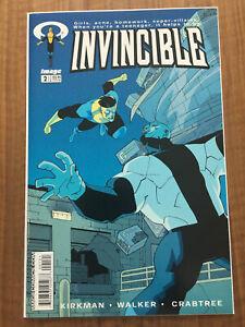 Invincible #2, 1st Print Low Run of 8,506, 1st Atom Eve, Rex-Splode,  VF+