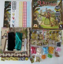 WIE NEU, da UNBESPIELT: VILLAGE! Das Kennerspiel 2012! Spielfiguren UNBEKLEBT!!!