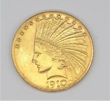 1910 TEN DOLLARS LIBERTY GOLD COIN
