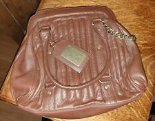 Suzy smith brown leather bag