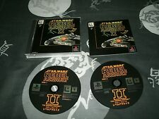 Star Wars: Rebel Assault II Japan Import Sony Playstation, PS2 And BC PS3's