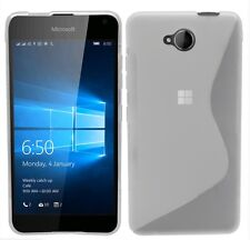Case It Microsoft Lumia 650 Frosted TPU Case and Screen Protector