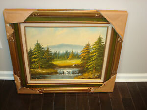 Urte Original Landscape Painting Signed