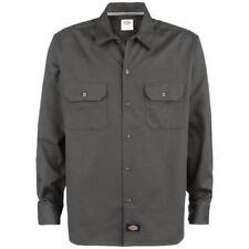 Camicie casual e maglie da uomo a manica lunga grigio Dickies