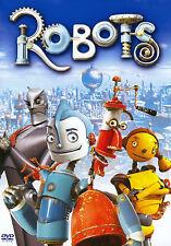 PELICULA DVD ROBOTS + FUNDA HOLOGRAFICA RELIEVE PRECINTADA