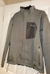 Men's Columbia Gray Titanium Omni-heat thermal comfort Jacket Coat XL