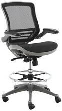 Harwick Evolve All Mesh Heavy Duty Drafting Chair In Gunmetal Finish New in Box